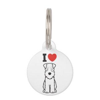 Soft Coated Wheaten Terrier Dog Cartoon Pet Nametag