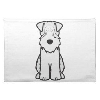 Soft Coated Wheaten Terrier Dog Cartoon Placemat