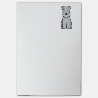 Soft Coated Wheaten Terrier Dog Cartoon Post-it® Notes