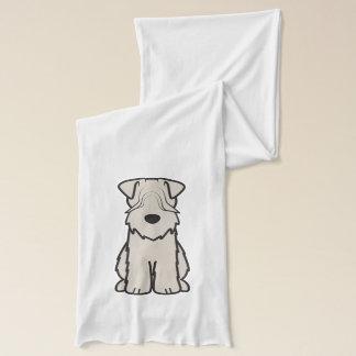 Soft Coated Wheaten Terrier Dog Cartoon Scarf