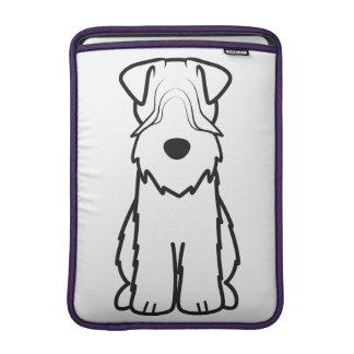 Soft Coated Wheaten Terrier Dog Cartoon Sleeve For MacBook Air