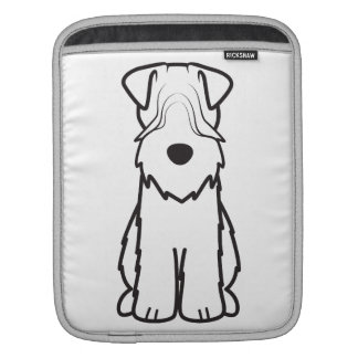 Soft Coated Wheaten Terrier Dog Cartoon Sleeves For iPads