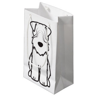 Soft Coated Wheaten Terrier Dog Cartoon Small Gift Bag