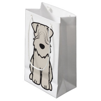 Soft Coated Wheaten Terrier Dog Cartoon Small Gift Bag