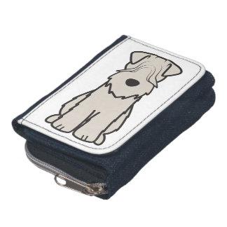 Soft Coated Wheaten Terrier Dog Cartoon Wallet