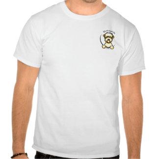Soft Coated Wheaten Terrier IAAM Pocket Tee Shirt