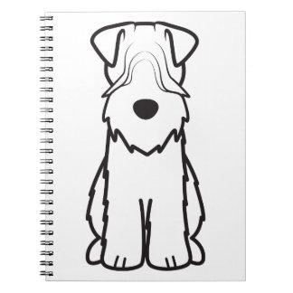 Soft Coated Wheaten Terrier Notebooks