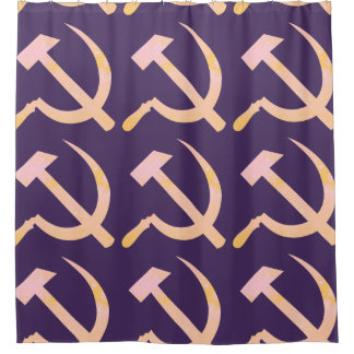 Soft Communism Shower Curtain