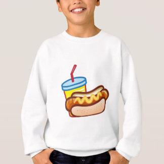 Soft drink hotdog sweatshirt