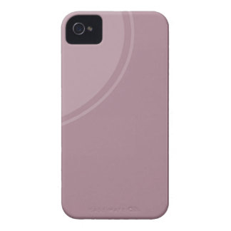 Soft dusty mauve iPhone 4 cases