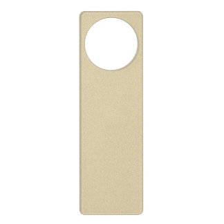 Soft Natural Sand Background Door Hanger
