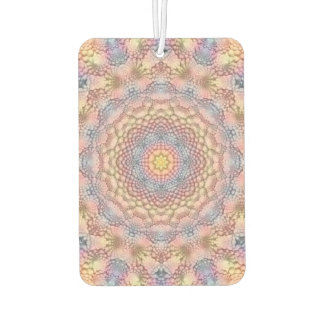 Soft Pastels Colorful Air Freshener