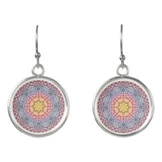 Soft Pastels Colorful Drop Earrings