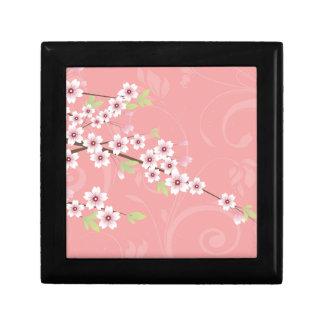 Soft Pink Cherry Blossom Gift Box
