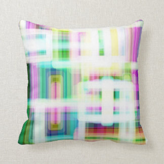 Soft Plaid Accent Pillow