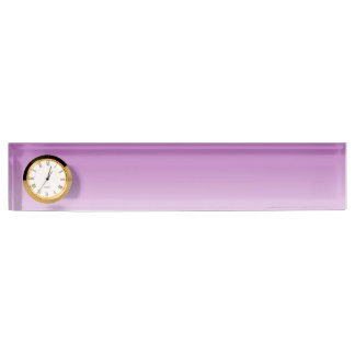 Soft Purple Ombre Nameplate
