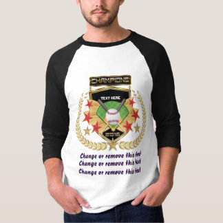 Softball Champion Front-only T-Shirt