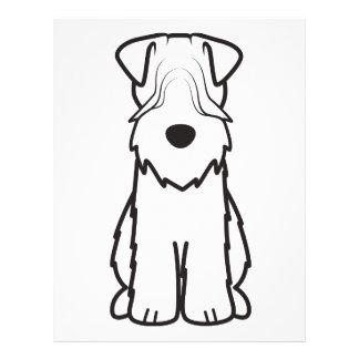 Softcoated Wheaten Terrier Dog Cartoon 21.5 Cm X 28 Cm Flyer