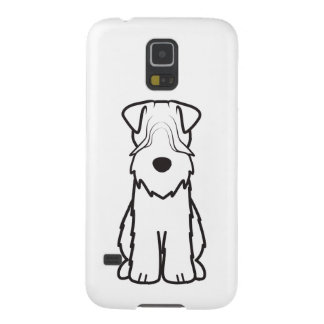 Softcoated Wheaten Terrier Dog Cartoon Galaxy S5 Covers