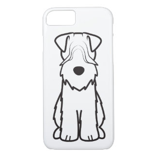 Softcoated Wheaten Terrier Dog Cartoon iPhone 7 Case