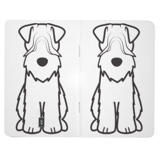 Softcoated Wheaten Terrier Dog Cartoon Journals
