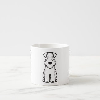 Softcoated Wheaten Terrier Dog Cartoon Espresso Mug