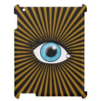 Solar Blue Eye iPad Cases