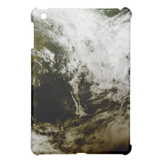 Solar eclipse over southeast Asia iPad Mini Cover