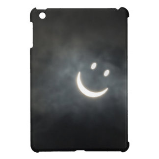 Solar Eclipse Smiley Face Cover For The iPad Mini
