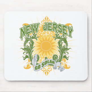Solar New Jersey Mouse Pad