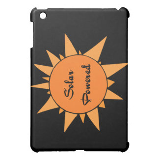 Solar Powered Sun On Black Background Ipad Case