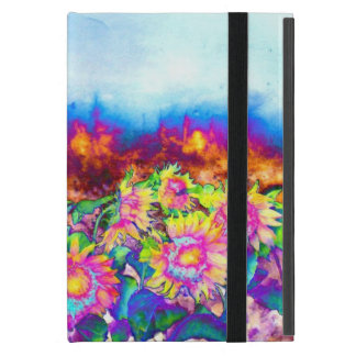 Solar Sunflower fields -chakra Cover For iPad Mini