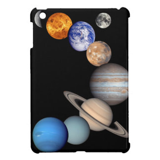 Solar System Montage Planetary Images Cover For The iPad Mini