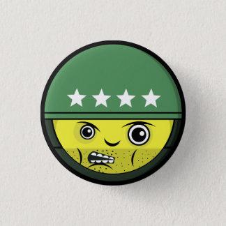 Soldier Face 3 Cm Round Badge