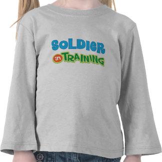 Soldier in Training Kids Shirt