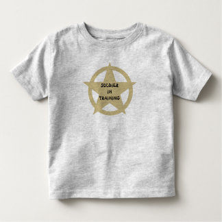 SOLDIER IN TRAINING SHIRT