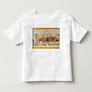 Soldiers leaving Hastings to do battle with Shirt