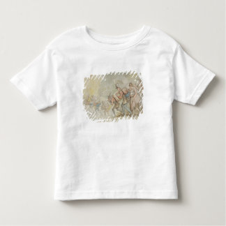 Soldiers on a March, 1805 (pen & ink and watercolo T Shirt