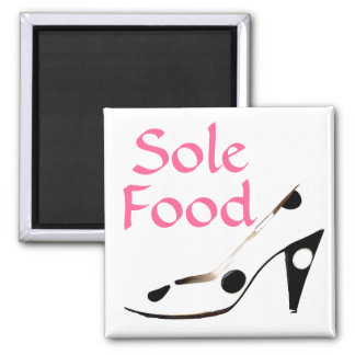 Sole Food  for souls who love shoes Refrigerator Magnets