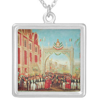 Solemn and Peaceful Entry of the Army Silver Plated Necklace