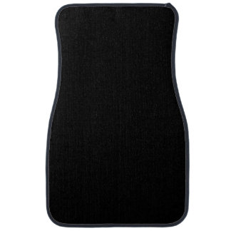 SOLID BLACK (total color coloration, dude!) ~ Floor Mat