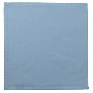 Solid Dusk Blue Cloth Napkins