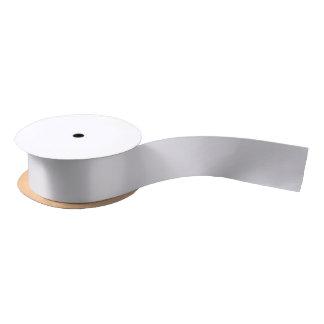 Solid Grey Satin Ribbon