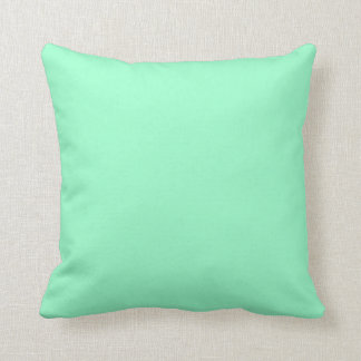 Solid Mint Green Colour Cushion