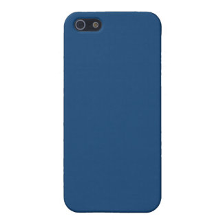 Solid Monaco Blue iPhone 5/5S Cover