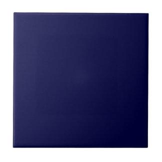 Solid Navy Blue Tile