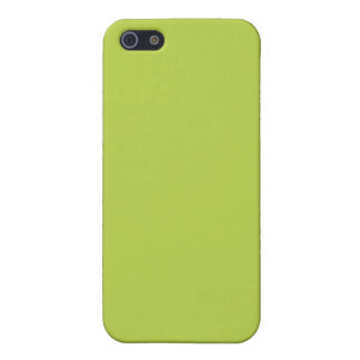 Solid Tender Shoots Green iPhone 5 Cases