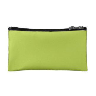 Solid Tender Shoots Green Makeup Bag