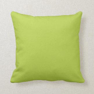 Solid Tender Shoots Green Pillow