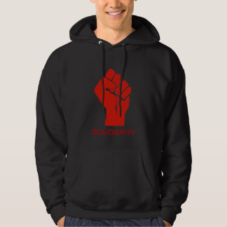 Solidarity With Wisconsin's Unions Hoodie